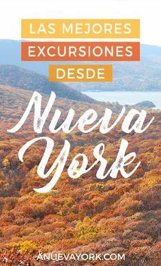 Las mejores excursiones de 1 día desde Nueva York. Pueblecitos y naturaleza más allá de la ciudad.