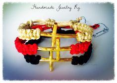 Handmade Jewelry Rg: Bracelet colorful crosses