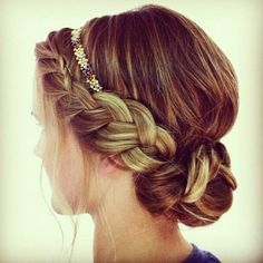 Braid into Bun Tutorial #hair