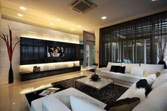 5. The TV room | Community Post: Pinterest Users Designed The Ultimate Dream House