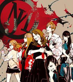 Shibuya , Sado , Black, Yuko , Gekikara and Torigoya. Yakuza Anime, Internet Art, Anime Group, Estilo Anime, Art Base, Manga Illustration, Manga Games, Japan Fashion, Girl Gang