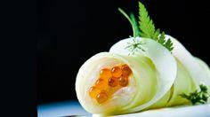 Cannelloni van zeebaars met groene papaja | VTM Koken