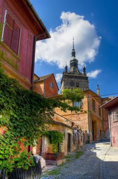 Romania Travel Inspiration - Medieval City in Transylvania