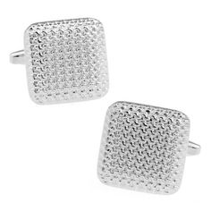 Square Unique Pattern Noble Men's Cufflinks Gift Box Package