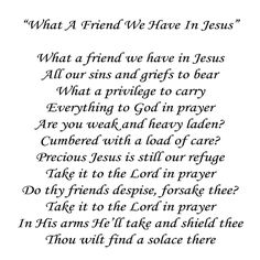 "What A Friend We Have In Jesus Quilt Block 8"" x 8"" Applique Words To The Song"