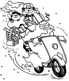 Sinterklaas  scooter