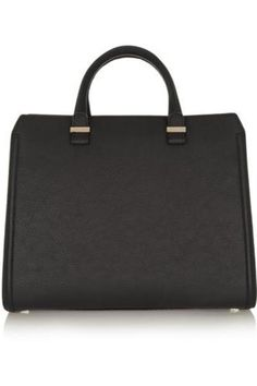 The Victoria matte-leather tote #accessories #women #covetme #victoriabeckham