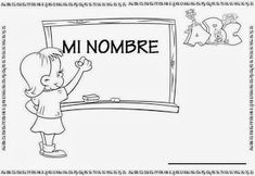 "¡FELIZ AÑO A TOD@S! DURANTE EL MES DE ENERO L@S NIÑ@S DE LAS CLASES DE LOS DUENDES Y DE LAS HADAS VAMOS A TRABAJAR EL PROYECTO ""MI NOMBRE"": ... Make It Simple, Nom Nom, Place Card Holders, Album, Mayo, Names, Frases, Name Activities, Infant Activities"