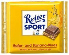RITTER SPORT Fake Schokolade Hafer- und Banana-Blues