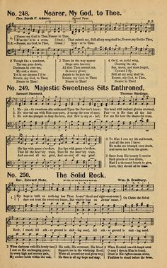 The Golden Sheaf No. a collection of gospel hymns, new and old, responsive readings, hymns for the Sunday school, young people Gospel Song Lyrics, Great Song Lyrics, Christian Song Lyrics, Gospel Music, Christian Music, Music Lyrics, Worship Songs Lyrics, Bible Songs, Praise Songs