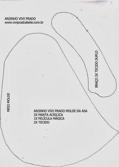 Molde Anjinho by Vivi Prado