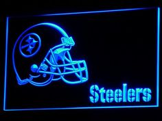Pittsburgh Steelers LED Neon sign only $21.99 and free shipping. Buy Now!!-----> http://ledsignlights.com/product/pittsburgh-steelers-led-neon-sign-light-nfl/ FREE SHIPPING anywhere!!!!      Excellent for displaying in your shop, bar, pub, club, restaurant, room for a birthday, graduation, wedding, anniversary etc.. and anywhere you like?    Approximate size: W: 300mm x H: 200mm.