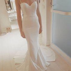 Sexy Speghetti Straps Prom Dress,2017 Prom Dress,White Wedding Dress, Mermaid Prom Dress, Charming White Prom Dress, Custom Made Prom Party Dress,Formal Dress for Weddings