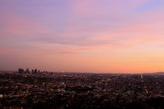 Great photo of LA with an interesting Adele mix.