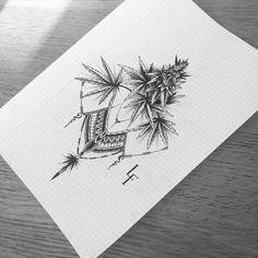 Ganja Tattoo How to grow marijuana and weed to produce quality buds. http://plantingpot.com