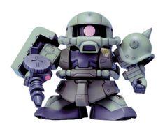 Bandai-Hobby-BB218-MS-06F-Zaku-II-Bandai-SD-Action-Figure