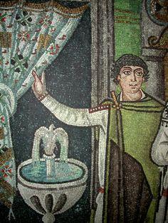 Ravenna mosaic - curtain and garb