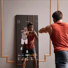 """MIRROR on Instagram: """"Knock out cardio in less time than it takes to get to the gym. With MIRROR, fitness has never been so convenient. #SeeYourself"""" See Yourself, View Photos, Cardio, Take That, Workout, Photo And Video, Fitness, Instagram, Tech"""
