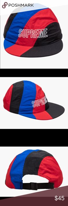 69c21547 100% Authentic Supreme Diagonal Stripe Nylon Hat From season SS18 released  on May 24 2018