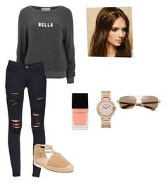 """Untitled #1959"" by joanne1law ❤ liked on Polyvore featuring Wildfox, Frame Denim, Jimmy Choo, Witchery and Forever 21"