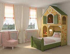 Decoracion Hogar - Comunidad - Google+ Boys Bedroom Furniture, Kids Furniture, Kids Bedroom, Bedroom Ideas, Grade Para Cama, Childrens Bedroom Storage, Plywood House, Beds Uk, Ideas Hogar