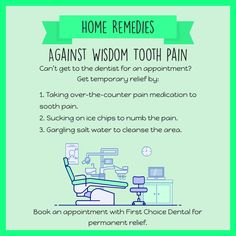 Home Remedies Against Wisdom Tooth Pain Toothpain Dental Implant Surgery, Teeth Implants, Reverse Receding Gums, Impacted Wisdom Teeth, Teeth Images, Tooth Extraction Healing, Emergency Dentist, Tooth Pain, Teeth Care