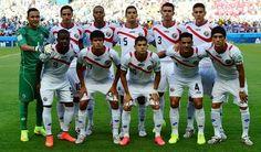 "Los ""Matagigantes"" . Seleccion de Costa Rica. Brasil 2014"