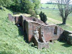 Antvorskov - Nationalmuseet.  Ruinerne af Antvorskov Kloster og Slot udgør i dag kun en lille del af et meget stort anlæg, men de afspejler i høj grad stedets bygningshistorie. Ruins of Antvorskov Abbey and Palace