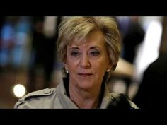 Trump picks wrestling magnate Linda McMahon to head Small Business Administration http://youtu.be/q1SLk-Odv9Y