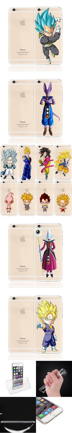 New Dragon Ball Z vegeta super sayan Soft TPU Silicone Case Cover Shell Coque for iPhone6 6S 6 Plus 6S Plus Free Shipping