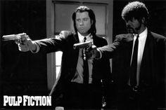 Pulp Fiction Guns Poster