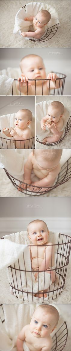 Beckett's Sitting Session | nashville baby photographer
