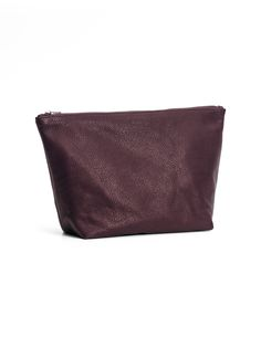 LARGE STASH CLUTCH / MINERAL - BAGGU (picture is oxblood but i like the shiny mineral color)