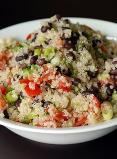 Black Bean, Tomato, and Quinoa Salad