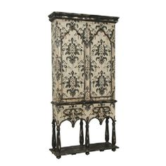 French Cartouche Cabinet