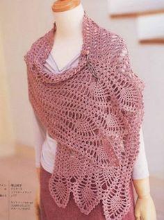Crochetpedia: bufandas y pañuelos más