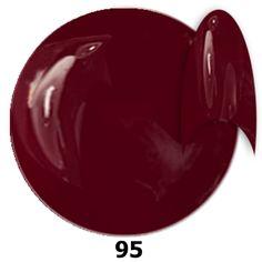 95. NTN Lakier żelowy UV - Chianti - Winny - 6ml.