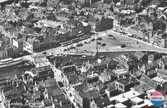 Panorama Leiden Leiden 1955
