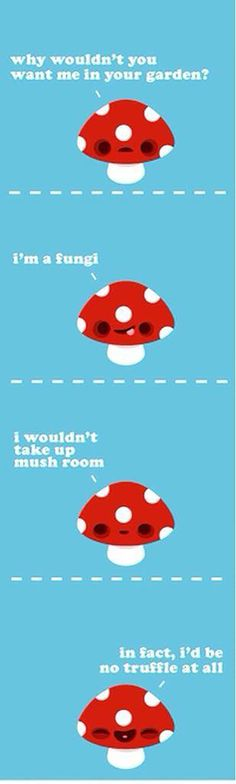 Ah puns, you say you hate them but you can't help but smile.