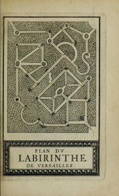 Labyrinte de Versailles : Benserade, Isaac de, 1613-1691 : Free Download…