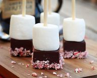 Check out this Peppermint Hot Chocolate on a Stick recipe, and other great recipes, from American Heritage Chocolate! #chocolate #recipes @Danelle Kemp Kemp: Let's Dish Recipes