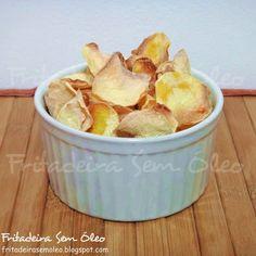 Chips de Mandioquinha na AirFryer (Batata Baroa) | Fritadeira sem Óleo - AirFryer