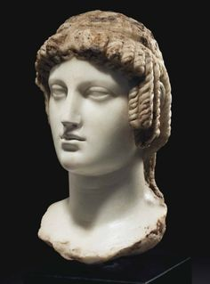 A GREEK MARBLE BUST OF ISIS - PTOLEMAIC PERIOD, CIRCA 2ND-1ST CENTURY B.C. | Christie's