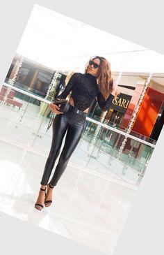 image Lady, Leather Pants, Leggings, Gunpowder Plot, Image, Fashion, Leather Jogger Pants, Moda, Fashion Styles