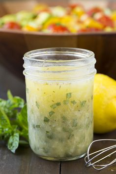 Greek Lemon Dressing | Cooking Classy