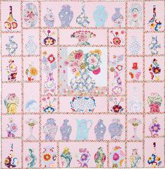 CHINA SHOP BOM by Homespun magazine This is Kathy Doughty's original quilt www.etsy.com/shop/SewColorfulQuilts
