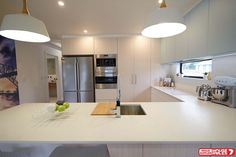 NSW Team new ultra-modern kitchen on House Rules