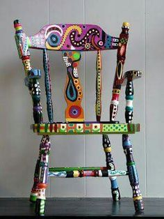 Gotta try this painted chair!