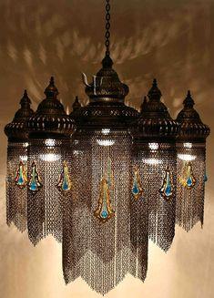 ottoman chandelier, yurdan.com