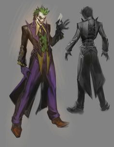 concept art from Injustice: Gods Among Us